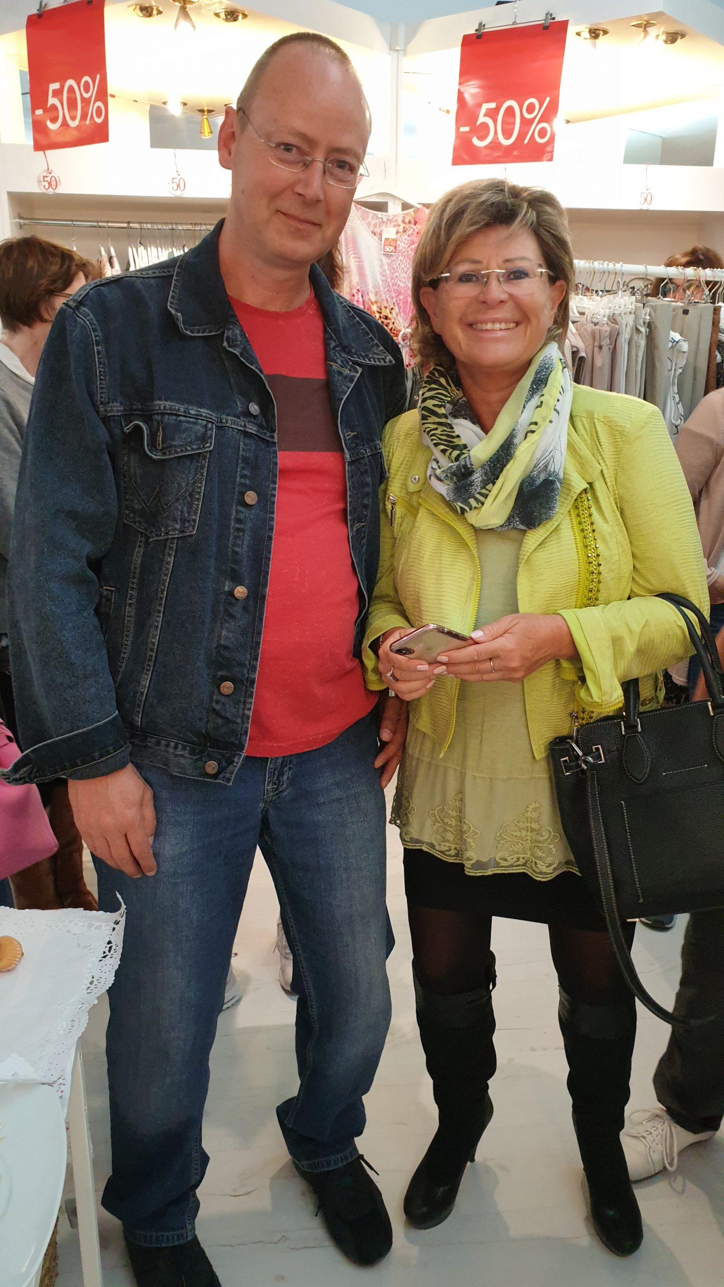Gabi Steiner und Torsten Kuhnke